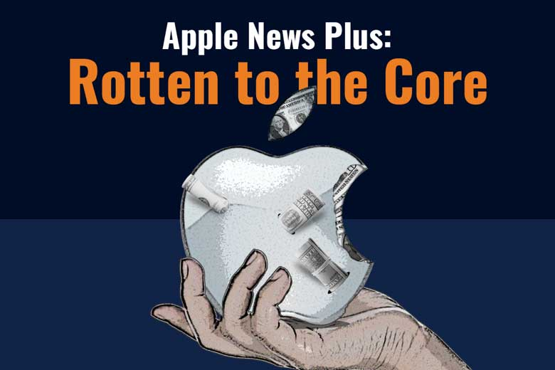 illustration Apple News Plus: Rotten at the Core